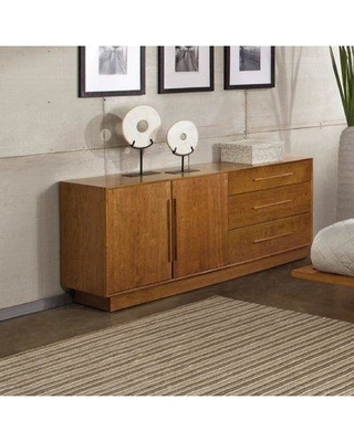 """Copeland Furniture Moduluxe Nightstand 2-MOD-03- Color: Natural Cherry Size: 29"""" H x 18.5"""" W x 18"""" D"""