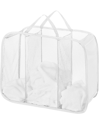 Pop Up Foldable Laundry Sorter White - Room Essentials