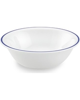 Apilco Tradition Blue-Banded Cereal Bowls, Set of 4