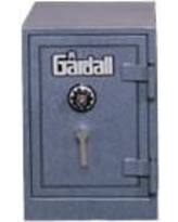 """Gardall 25"""" H x 25.75"""" D U.L. Two-Hour Fire Resistant Record Safe 1818/2 Finish: Sandstone, Lock: Group II Combination Lock With Key Locking Dial"""