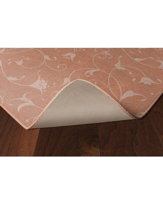 """Charlton Home® Demetra Simple Floral Salmon Area Rug in Pink, Size Rectangle 2'6"""" x 3'10"""" 