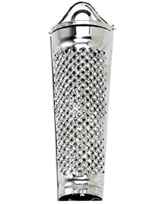 HIC Harold Import Co HIC Nutmeg Grater, Stainless Steel, Silver