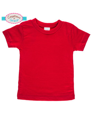 Red Infant T-Shirt - 12-18 Months