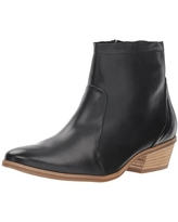 Paul Green Women's Shaw BT Ankle Boot, Black Leather, 5.5 M US