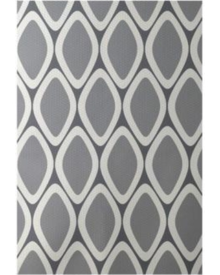 e by design Flatweave Gray Area Rug RGN124GY3GY2- Rug Size: Rectangle 3' x 5'