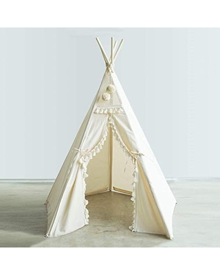 Boho Style Kids Tipi Tent - Childrens Teepee Play Tents - Playhouse for children - 100% Handmade!