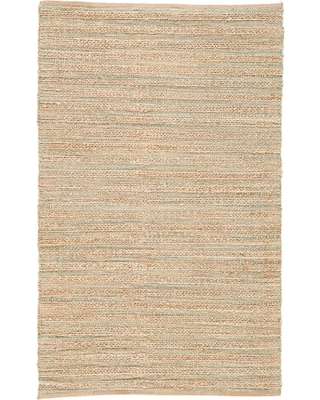 Jaipur Rugs Natural Almond Buff 3 ft. x 4 ft. Stripe Area Rug