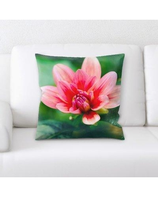 East Urban Home Bloom Throw Pillow W000761332