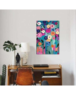 """East Urban Home 'Nurture Your Soul' Graphic Art Print on Canvas EBHU7752 Size: 18"""" H x 12"""" W x 0.75"""" D"""