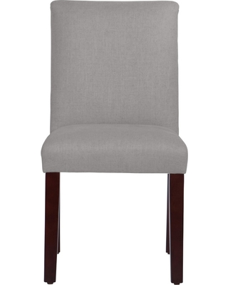 Hendrix Dining Chair with Espresso Legs Gray Linen - Cloth & Co.