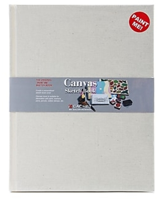 Cachet Canvas Sketch Book 11 in. x 8 1/2 in.,Size: med