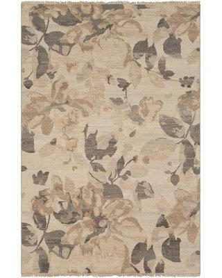 Red Barrel Studio Darrin Hand-Knotted Wool Camel Area Rug RDBT4704 Rug Size: Rectangle 6' x 9'