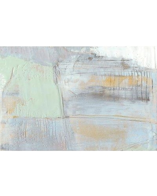"""East Urban Home 'Pastels in Wax I' Print on Canvas ESUI0556 Size: 18"""" H x 26"""" W x 0.75"""" D"""