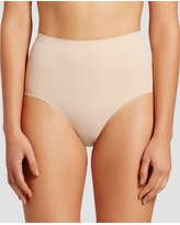 Assets by Spanx Women's All Around Smoother Brief - Soft Nude M