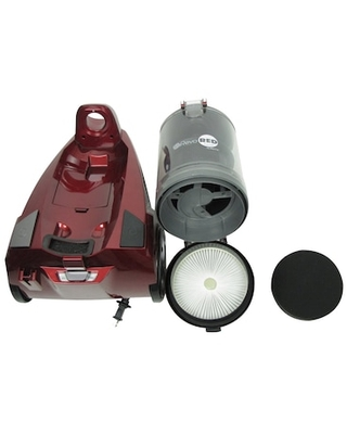 Atrix AHC-RR Revo Red Canister Vacuum, Bagless (AHCRR) | Quill