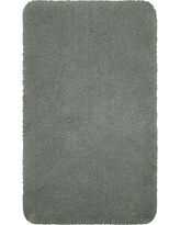 "Performance Nylon Bath Rug Radiant Gray (20""x34"") - Threshold"