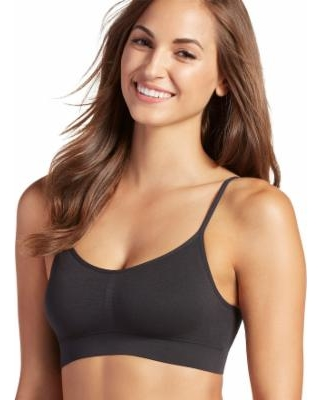 Jockey Bra: Modern Microfiber Seamfree Bralette 2404, Women's, Size: Small, Oxford
