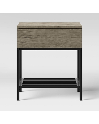 Loring End Table Gray - Project 62