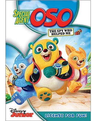Special Agent Oso: The Spy Who Helped Me DVD Official shopDisney