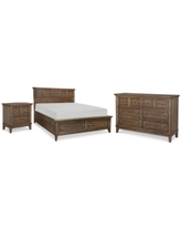 Can T Miss Bargains On Zarina Bedroom Furniture 3 Pc Set Queen Bed Dresser Nightstand
