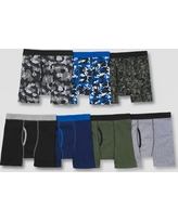 Hanes Boys' Boxer Briefs 7pk - Colors Vary M, Multi-Colored