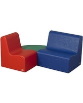 Children's Factory School Age Learning 3 Piece Soft Seating CF705-710