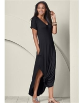 """Casual Maxi Dress Dresses - Black"""