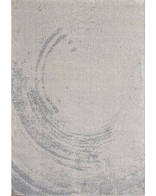 "Williston Forge Patterson Gray Area Rug W000235527 Rug Size: Rectangle 7'9"" x 10'2"""