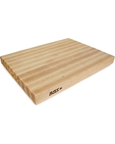 John Boos RA03 Maple Wood Edge Grain Reversible Cutting Board, 24 Inches x 18 Inches x 2.25 Inches