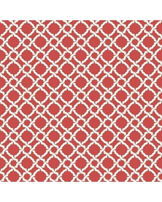 """York Wallcoverings Waverly Classics II Kent Crossing Removable 33' x 20.5"""" Wallpaper Roll WC754 Color: Red"""