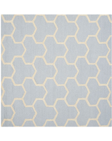 Amazing Deals On Safavieh Mckayla Geometric Hand Tufted Wool Rug One Size Silver