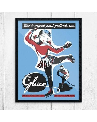 Winston Porter 'Everyone Can Skate at the Ice Palace' Graphic Art Print BF123540