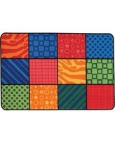 Kids Value Rugs Patterns at Play Kids Rug 36.19 / 48.19 Rug Size: 4' x 6'