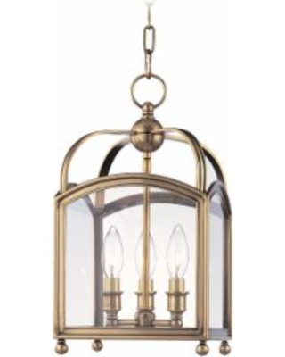 Hudson Valley Lighting Millbrook 9 Inch Cage Pendant - 8409-AGB
