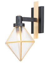 Sales For Sherrell 1 Light Dimmable Black Brass Vanity Light Mercer41