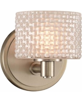 "Willow 6"" High Satin Nickel LED Wall Sconce"