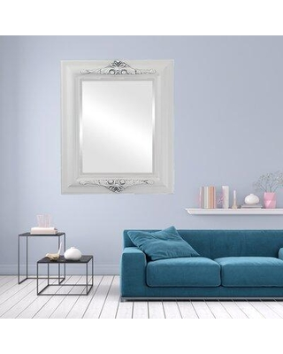 Deals For Charlton Home Wokingham Rectangle Traditional Beveled Accent Mirror Wood In White Size 35 H X 25 W Wayfair D1a459974fa34b13a62eff2e88f90a6b