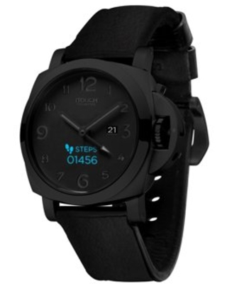 iTouch Connected Hybrid Smartwatch Fitness Tracker Heart Rate Step Counter Sleep Monitor Connected GPS Notifications IP68 Waterproof for Women and Men up to 30 Day Battery Compatible with Android & IOS
