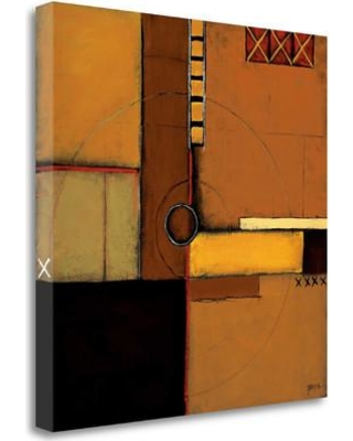 """Tangletown Fine Art 'Aerial View I' Graphic Art Print on Wrapped Canvas CA312152-2020c Size: 20"""" H x 20"""" W"""