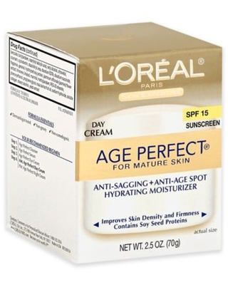 L'Oréal Paris 2.5 oz. Age Perfect Day Cream SPF 15 for All Skin Types