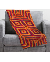 Deny Designs Wagner Campelo Sanchezia X Throw Blanket 13525-fle Size: Large