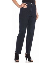Ruby Rd Blue Classic Elastic Side Jeans