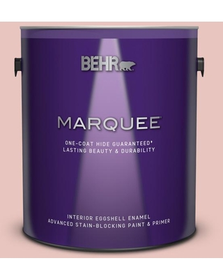 BEHR MARQUEE 1 gal. #S160-1 Iced Cherry Eggshell Enamel Interior Paint and Primer in One