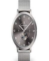 Lilienthal Berlin L1 All Silver Mesh Watch 42mm