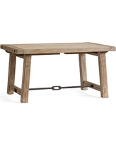 Benchwright Extending Dining Table, Small, Seadrift