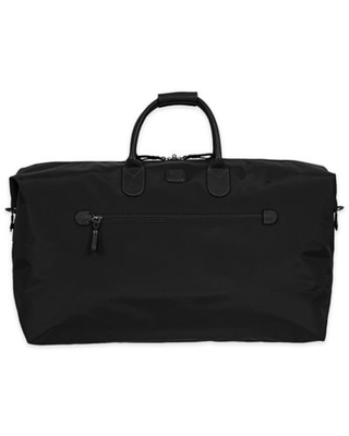 Bric's X-Travel 22-Inch Deluxe Duffle in Black/Black