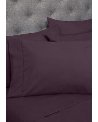 Sweet Home Collection Purple 1500 Thread Count 6 Piece Sheet Set