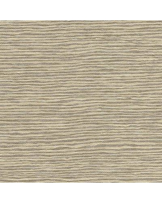 """Rosecliff Heights Talamore Faux Grasscloth 27' L x 27"""" W Texture Wallpaper Roll ROHE7244 Color: Beige"""