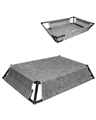 """Tomball Elevated Dog Cot Tucker Murphy™ Pet Size: Large ( 53.75"""" W x 36.75"""" D x 8.5"""" H )"""