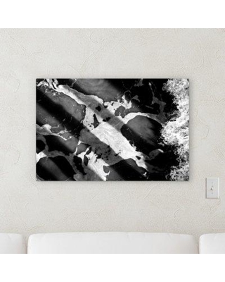 """Ebern Designs 'Abstract Point of View (139)' Graphic Art Print on Canvas BF100710 Size: 20"""" H x 30"""" W x 2"""" D"""